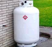 Where to find Propane Tank 420 lb 80 gallon pig in Edmonton