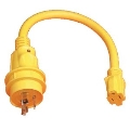 Where to rent Pigtail, 30 amp 125 250V 4 prong Male in Edmonton AB